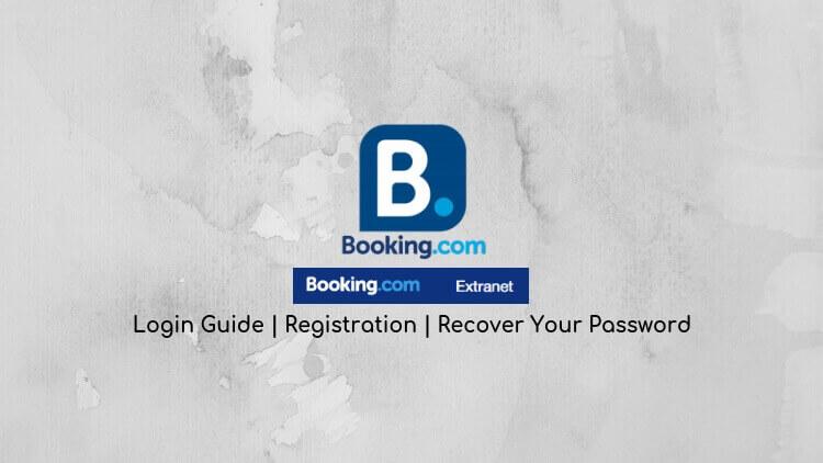 booking.com extranet login