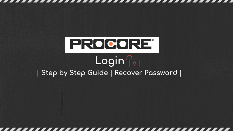procore password recovery