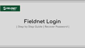 fieldnet login - step by step guide