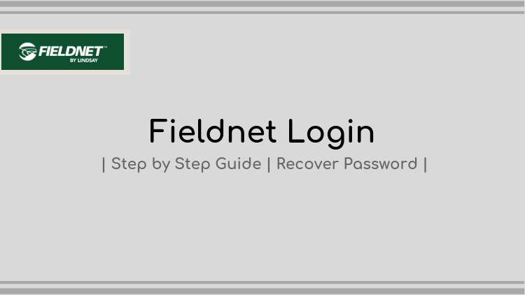 fieldnet login - step by step guide