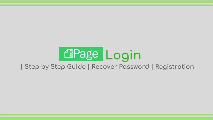 ipage login - registration