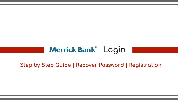 merrickbank login guide