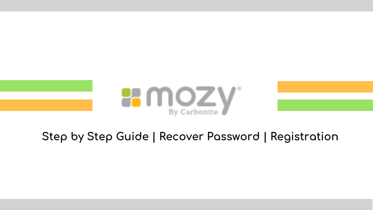 mozy login guide with easy steps mozy registration