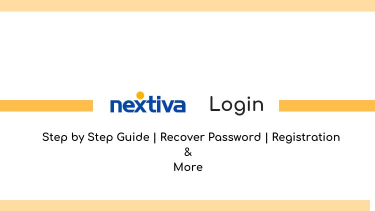 nextiva login and registration