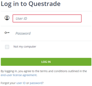 questrade login