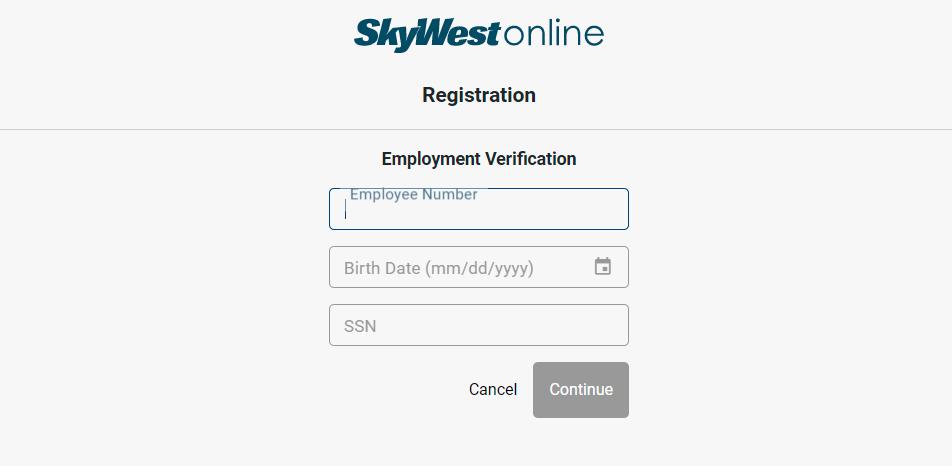 skywest.com registration