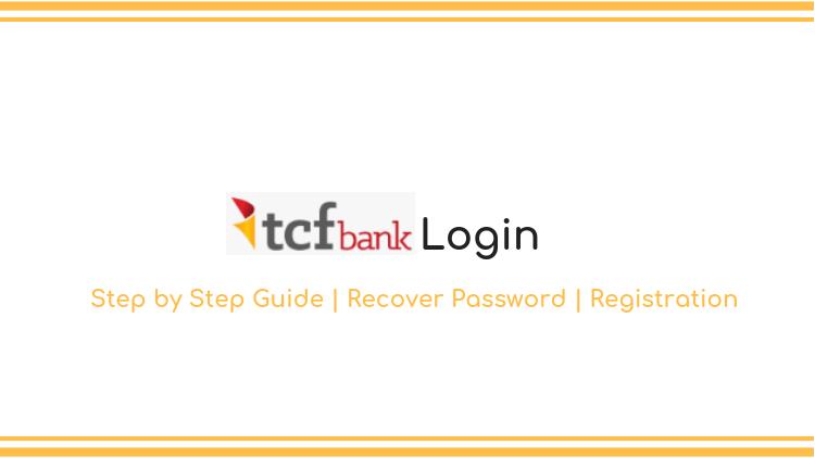 tcf bank login guide