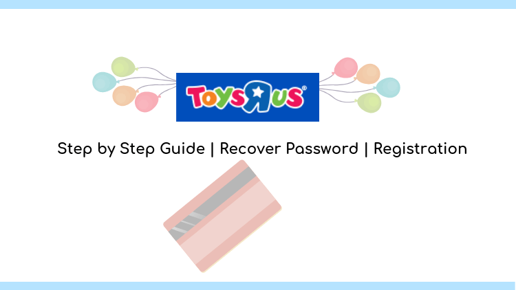 toys r us credit card login guide with registration process