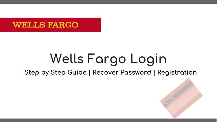wells fargo login and registration