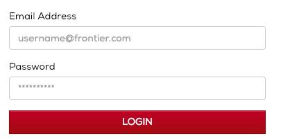 frontier mail login procedure