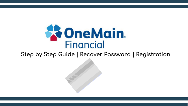 Onemain financial login guide