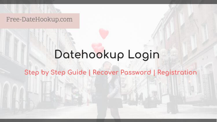 datehookup login procedure