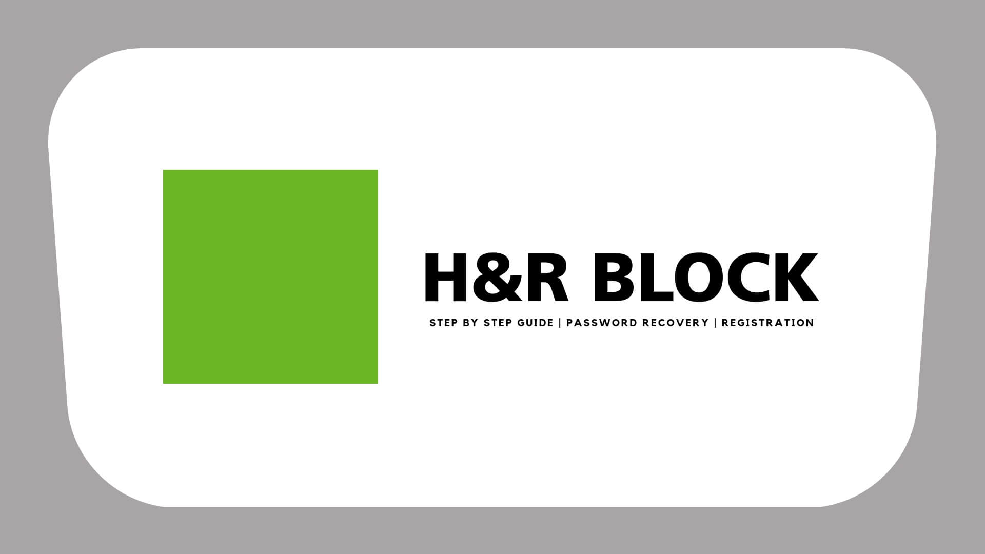 H&R block login