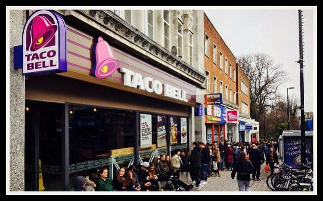 tacobell uk customer satisfaction survey