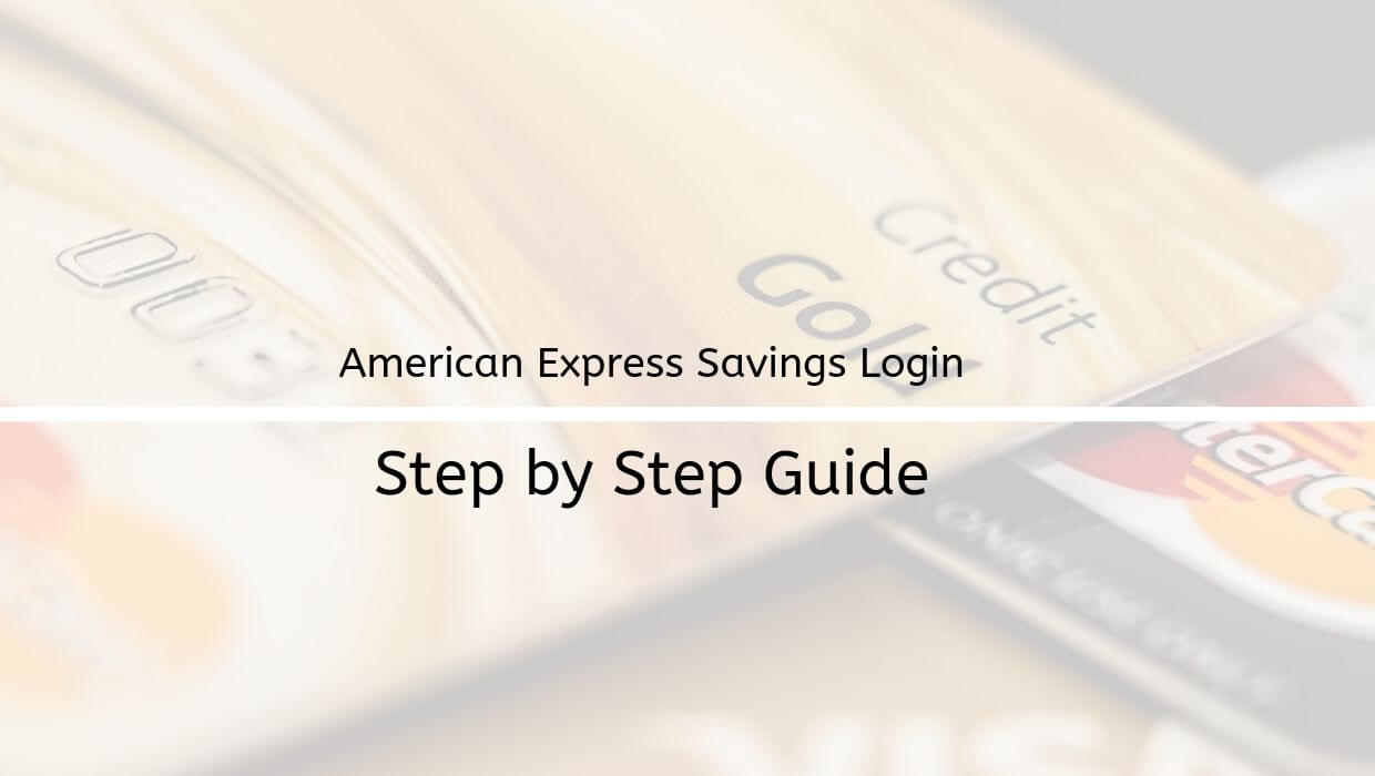 american express login guide