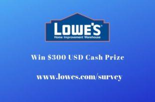 lowes satisfaction survey