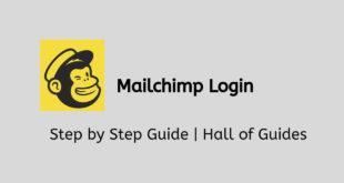 mailchimp login guide