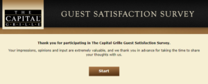 capital grille customer