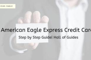 American eagle express credit card login