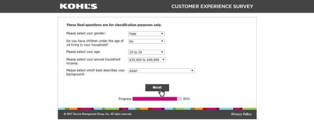 www.kohlslistens.com survey