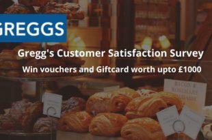 greggs customer satisfaction survey