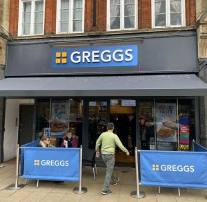 greggs in northampton