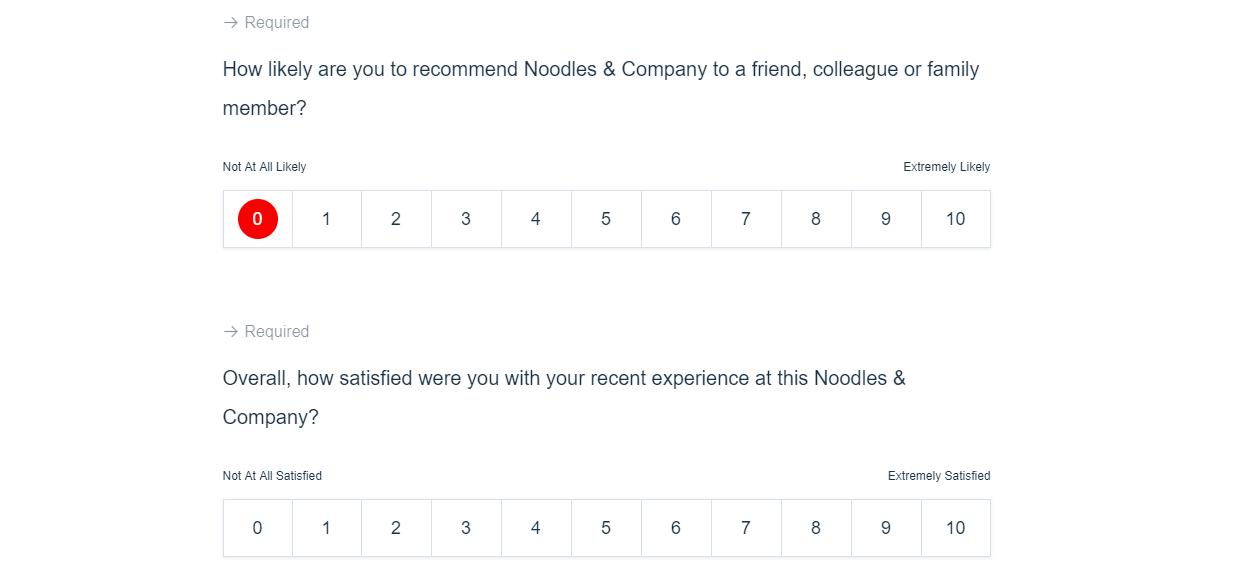 tell noodles survey