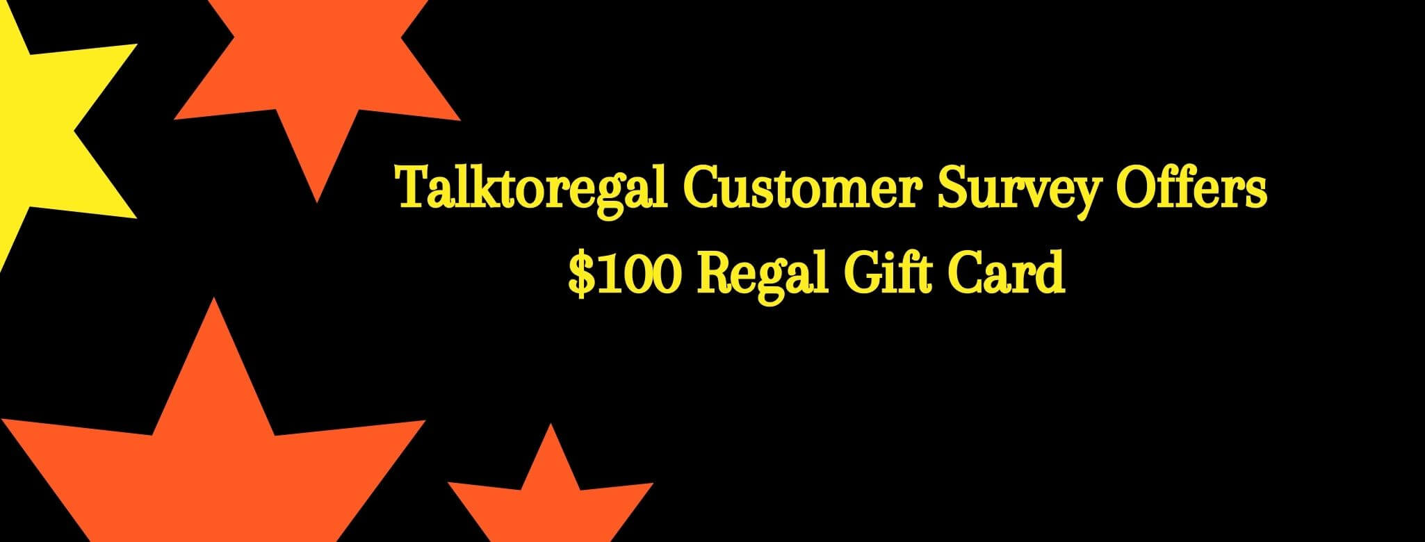 regal customer survey