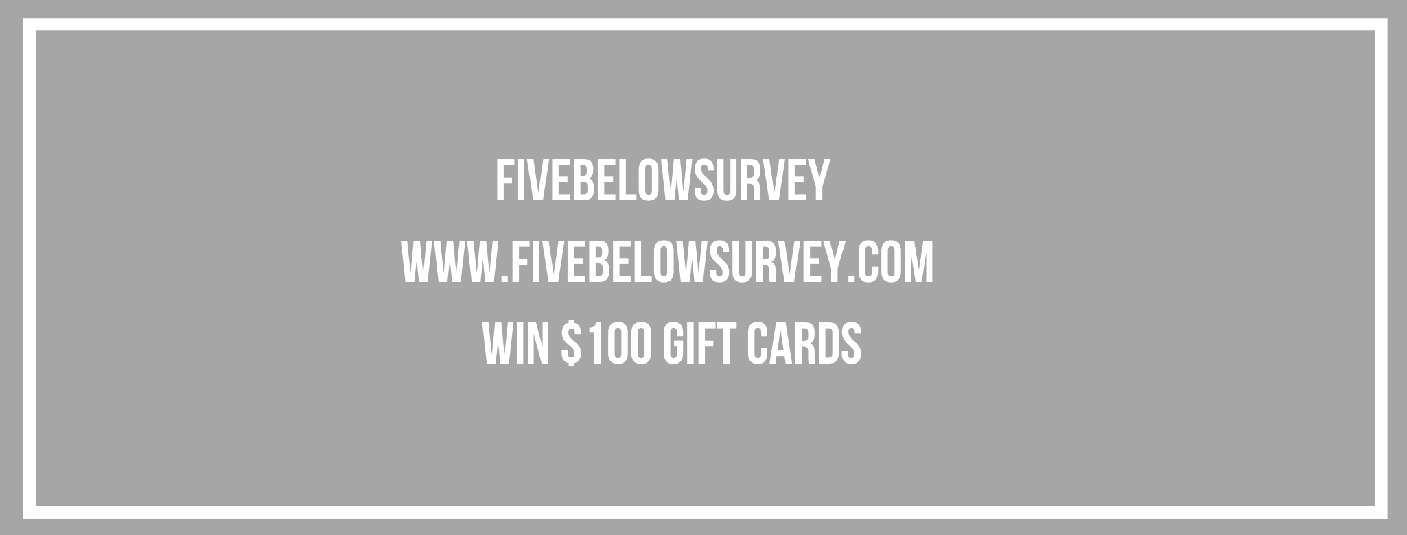 www five below com survey