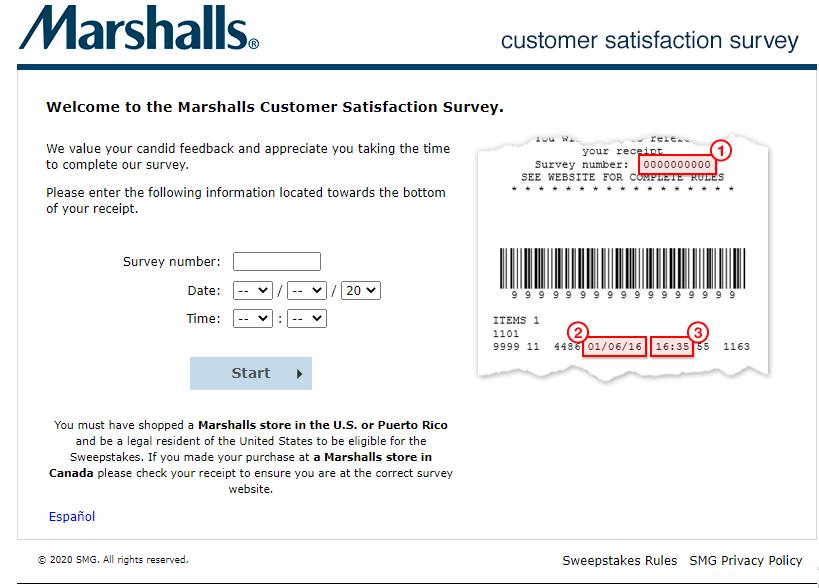 Marshall survey