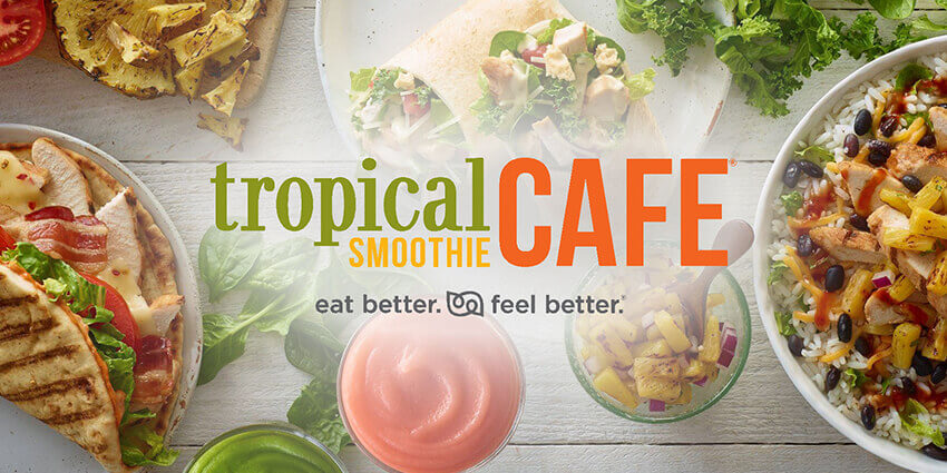 tropical smoothie menu