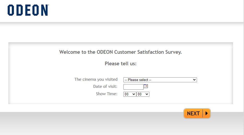 tell odeon feedback survey