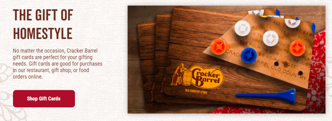 crackerbarrel gift card