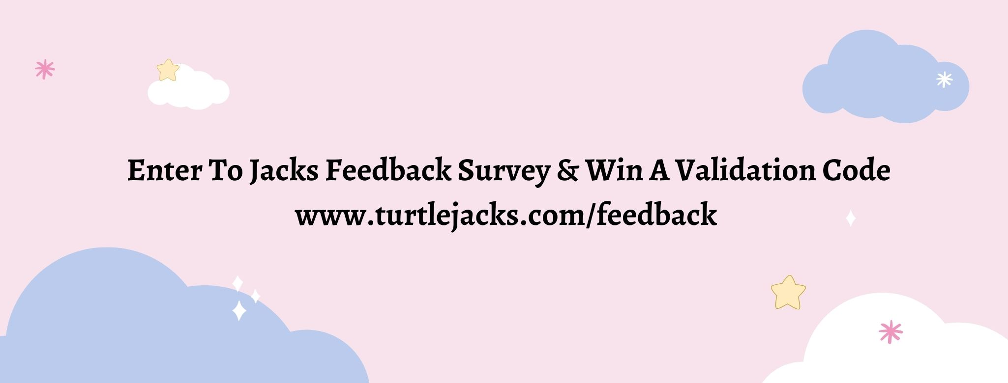 Turtle Jack's Feedback Survey