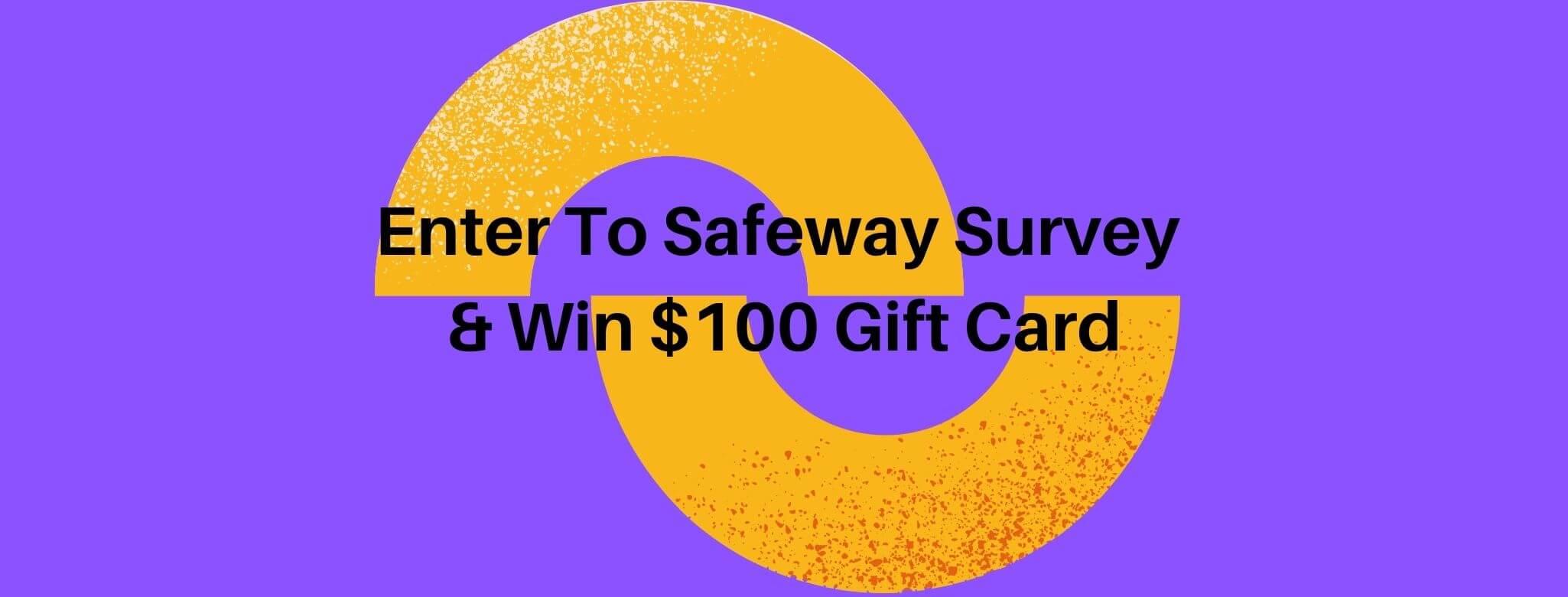 safeway.com survey