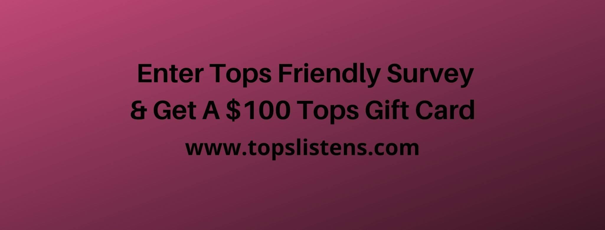 topslistens.com survey