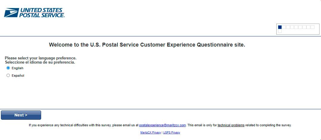 postal experience